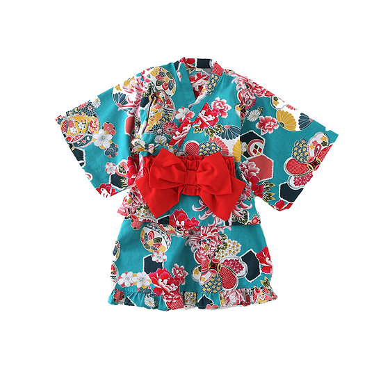 日系女童純棉浴衣 BJ15905