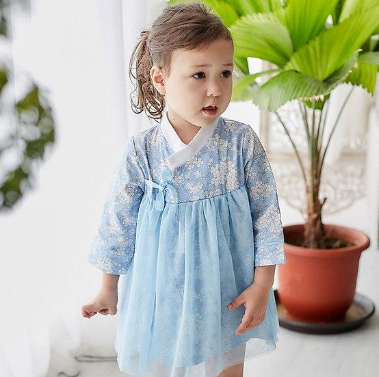 嬰兒韓服連衣裙 AA42218