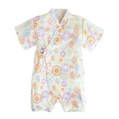 Augelute嬰幼兒純棉短袖日本浴衣 AA54216