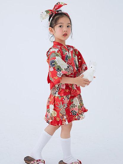 日系女童純棉和服 BJ15903