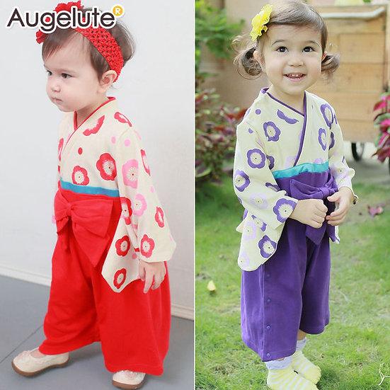 日系經典可愛和服 AA4206
