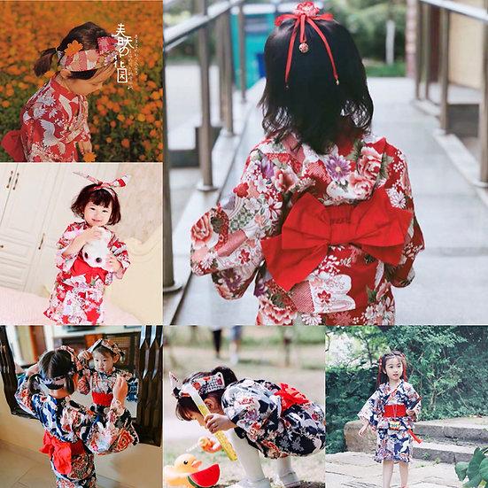 日系女童純棉浴衣 BJ15904
