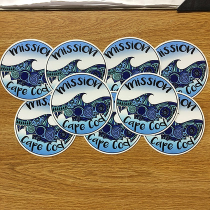 Mission Cape Cod Sticker