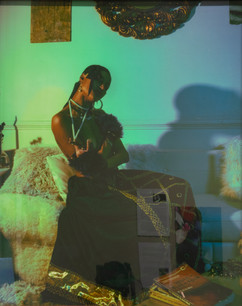 "Skye High, ""Untitled,"" photograph (inspired by James Van Der Zee)"