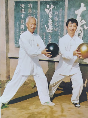Choy with Master Chen Qingzhou