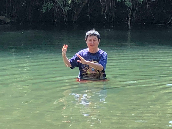 Choy in the River