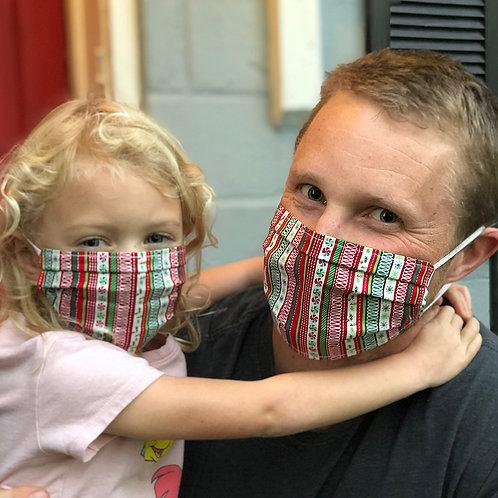Ribbon Candy Mask