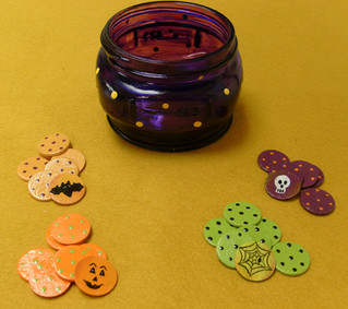 Halloween Tiddlywinks Project