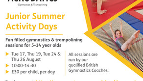 Summer holidays 2021 activity days & pre-school session