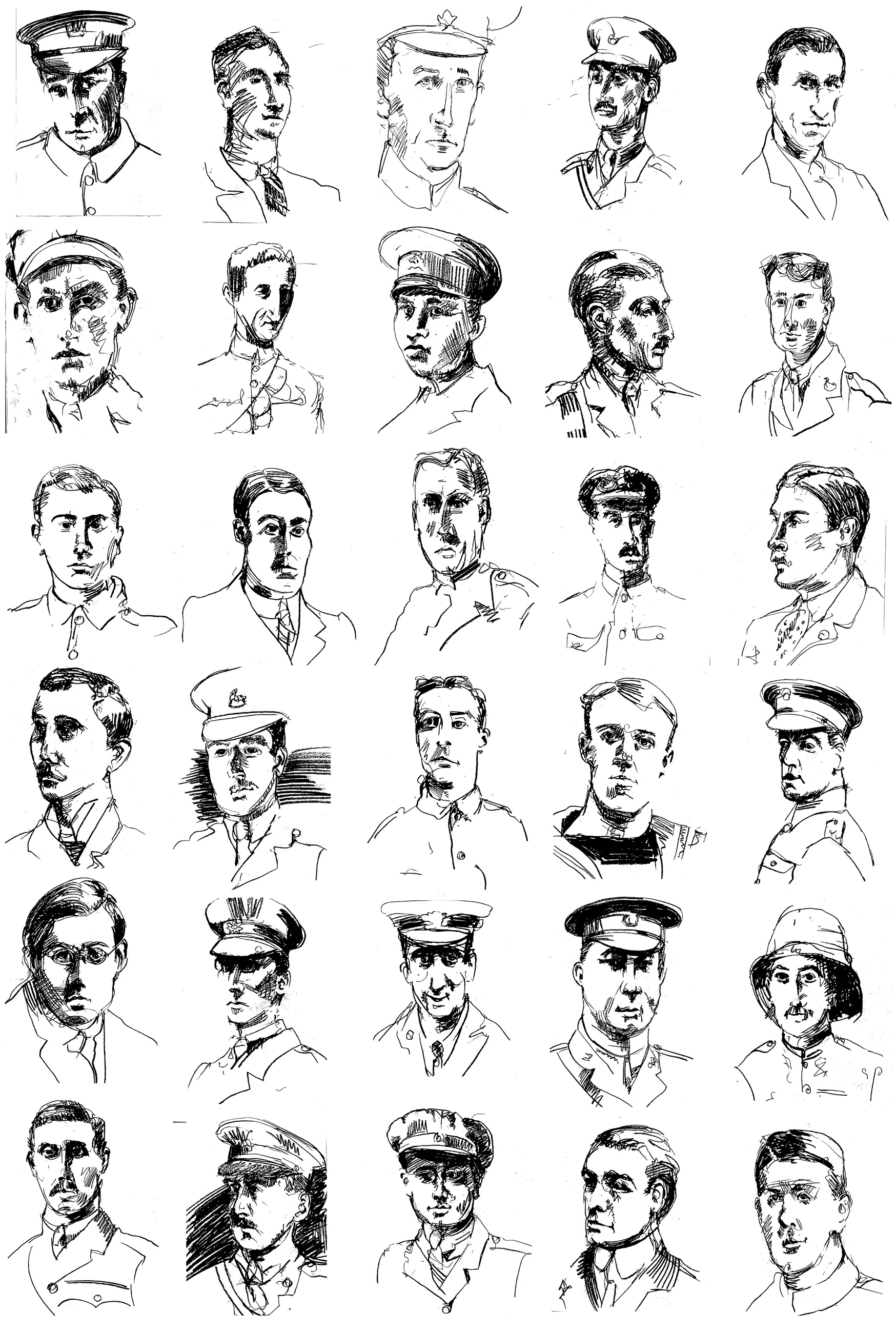 Posthumous portraits