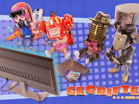 Terrain Bending Adventure Georifters Out Now On PlayStation®4
