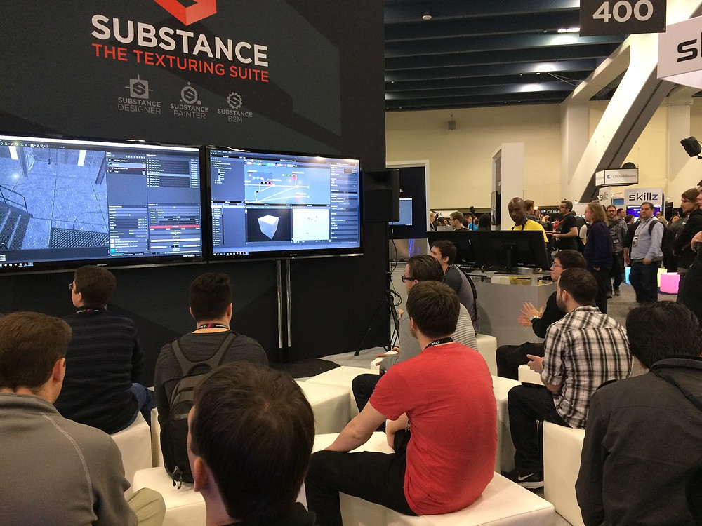 GDC 2017 Playerium Substance Booth presentation