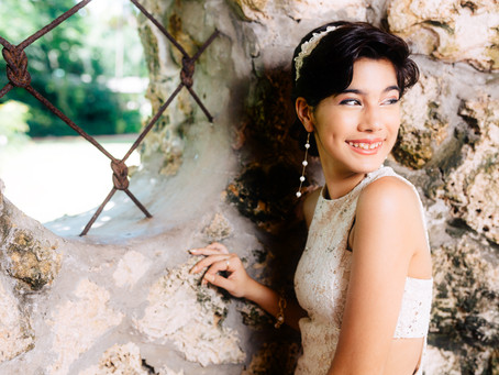 Quinces Photo Shoot in Pinecrest Gardens