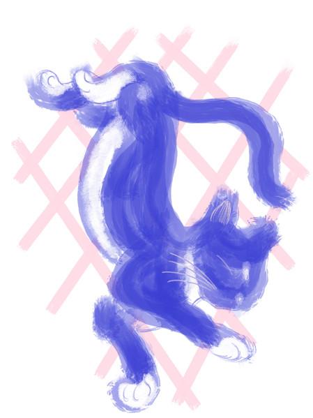kitty artwork