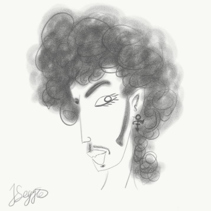 Prince Caricature