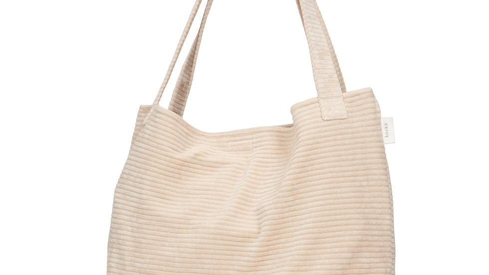 Koeka Mom Bag Shopper Vik Sand