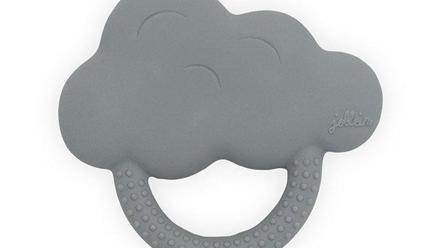Jollein Bijtring Rubber Cloud Storm Grey