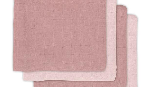 Jollein Bamboe Hydrofiele Doek 70x70cm Pale Pink (4pack)