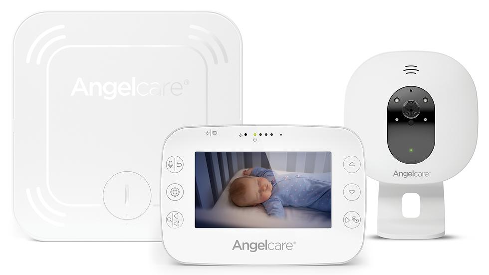 Angelcare Beeldbabyfoon met Camera en Bewegingssensor AC327