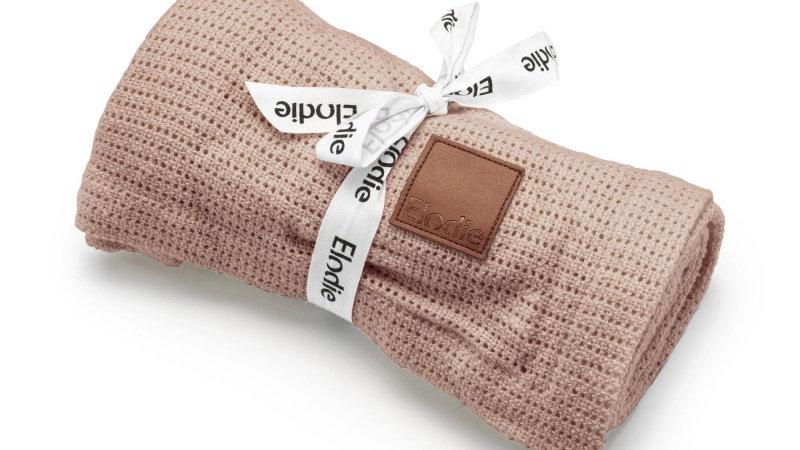Elodie Cellular Deken Powder Pink