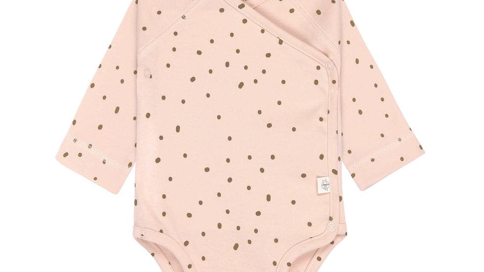 Lässig Long Sleeve Body Gots Dots Powder Pink