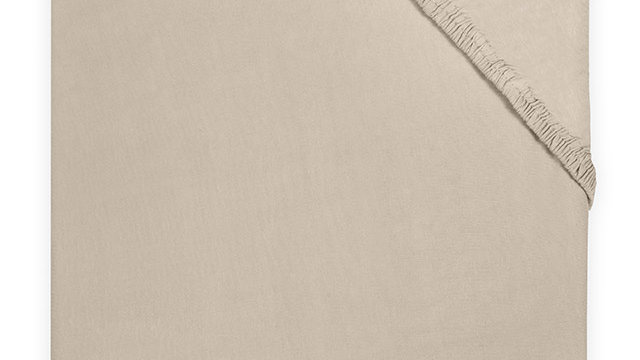 Jollein Hoeslaken Jersey 40x80/90cm Nougat