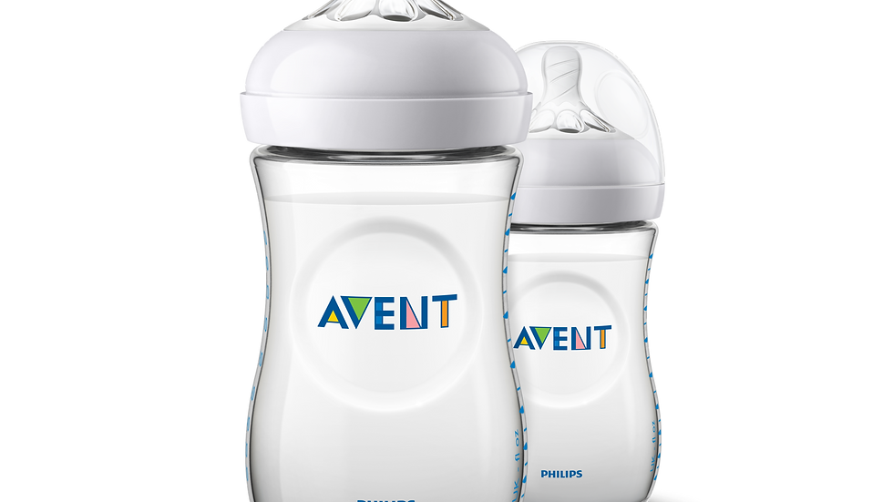 Avent Natural Zuigfles Duo 260ml