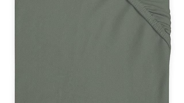 Jollein Hoeslaken Jersey 40x80/90cm Ash Green
