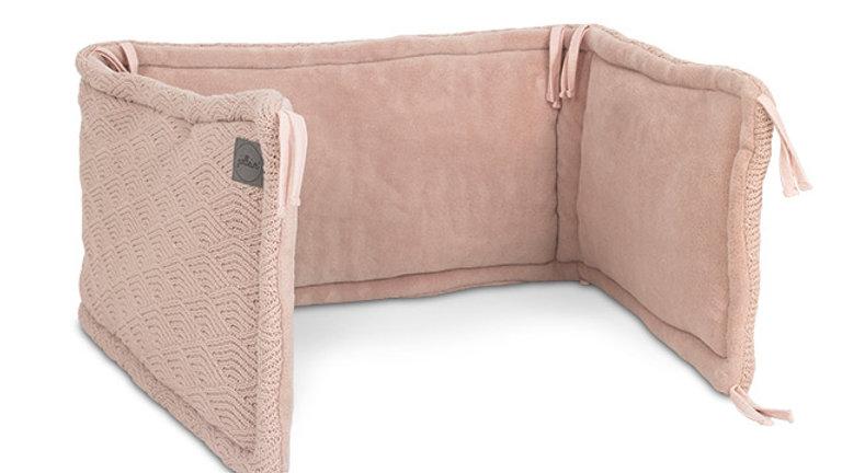Jollein Box/Bedbumper 35x180cm River Knit Pale Pink