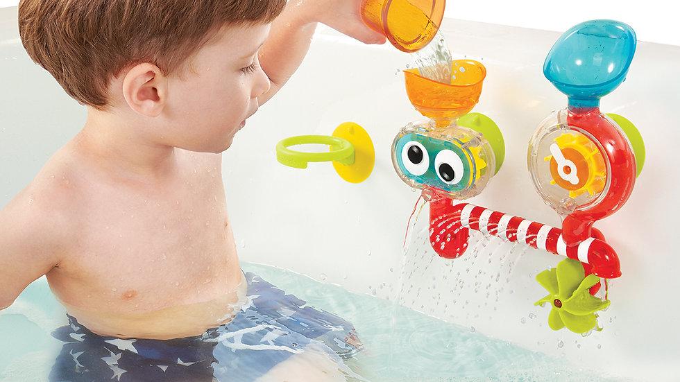 Yookidoo Spin N Sprinkle Water Lab Badspeelgoed