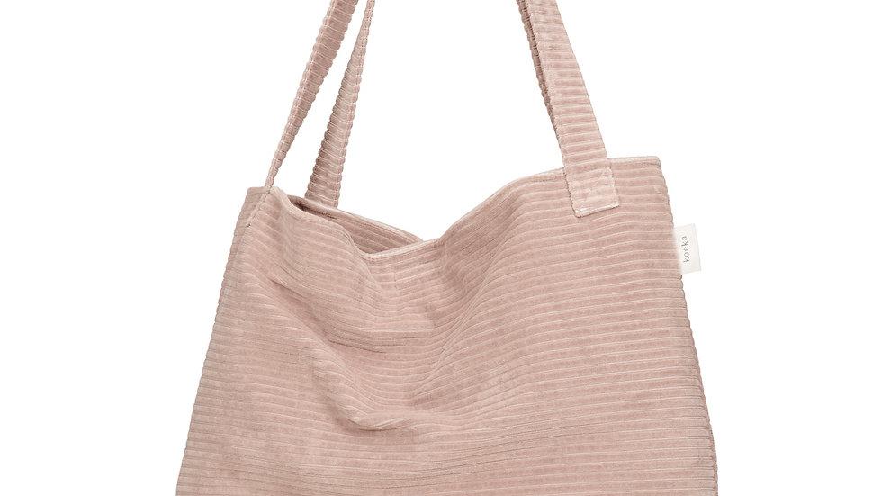Koeka Mom Bag Shopper Vik Grey Pink