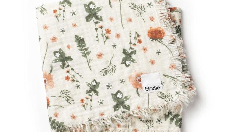 Elodie Hydrofiel deken Meadow Blossom