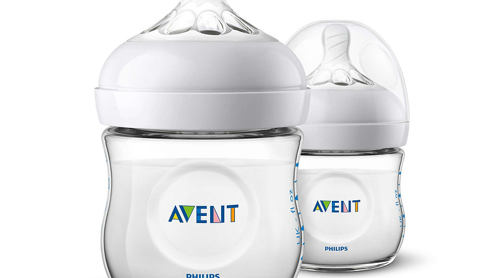 Avent Natural Zuigfles Duo 125ml