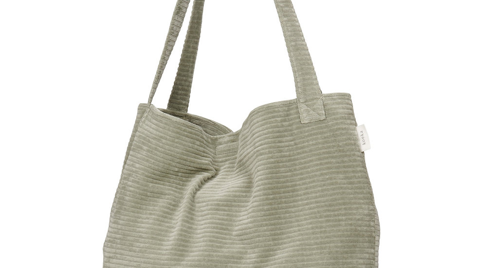 Koeka Mom Bag Shopper Vik Shadow Green