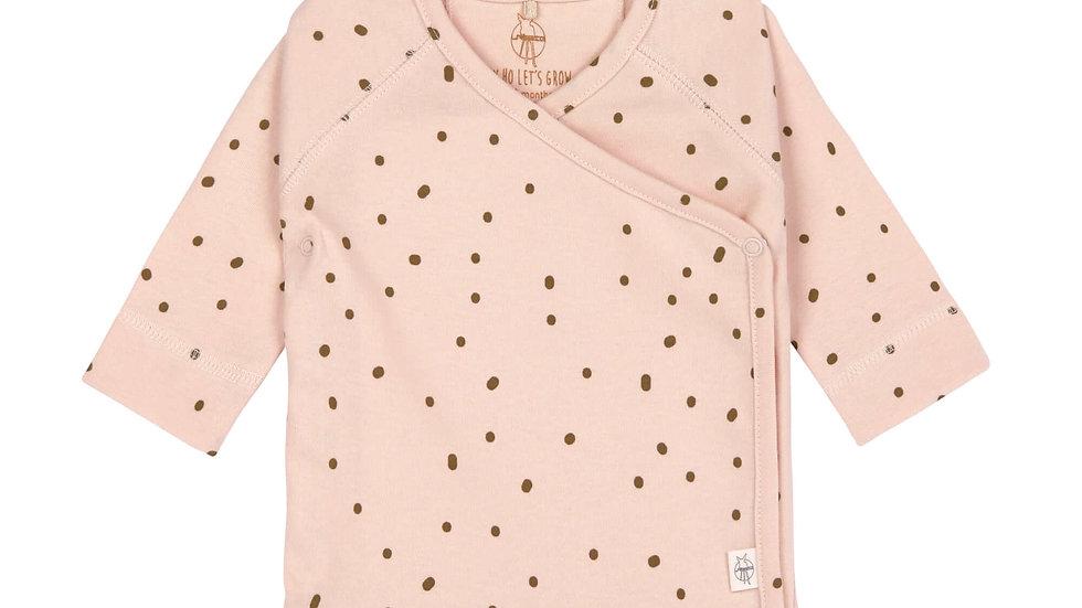 Lässig Kimono Shirt Gots Dots Powder Pink