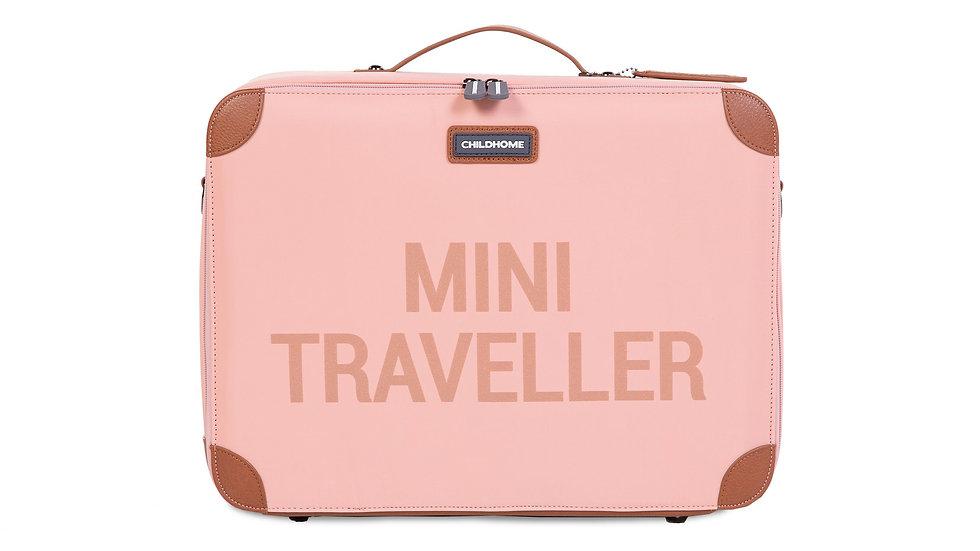 Childhome Mini Traveller Kinderkoffer Roze