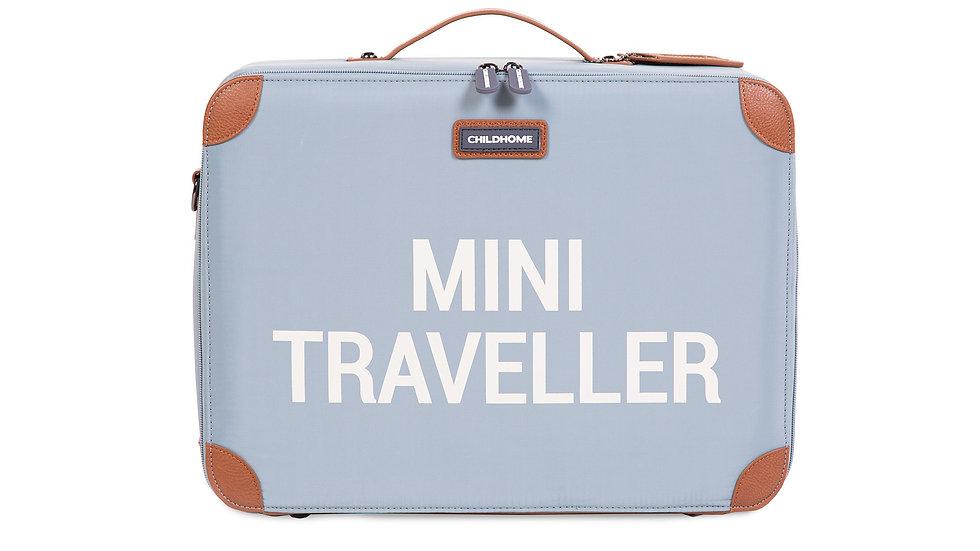 Childhome Mini Traveller Kinderkoffer Grijs Ecru