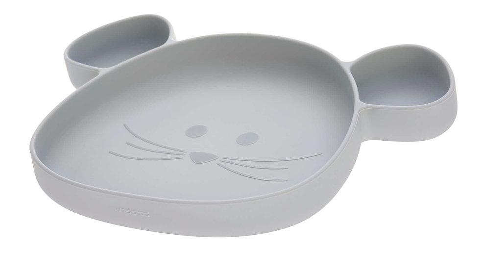 Lässig Silicone Bordje Mouse Grey