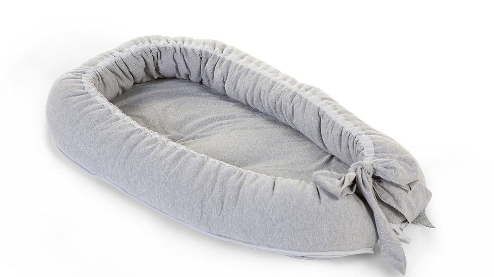 Childhome Babynest Jersey Grey