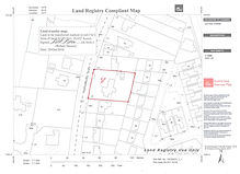 drafting of maps suitable for Land Registry applications