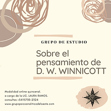 GdeE TSOBRE EL PENSAMIENTO DE D. W. WINN