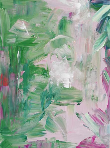 Green soul / 40x30 cm