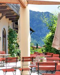 Restaurantbesuch in Bayern