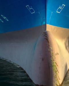 künstlerischer Schiffsrumpf