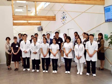 「長岡エールホームクリニック」を訪問し、激励をさせていただきました