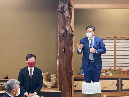 『亀田経済人懇話会』にお招きいただきました