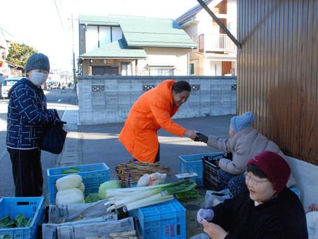 「亀田三・九の市」へ日頃のご挨拶と皆様の声を聴かせていただきに伺いました!