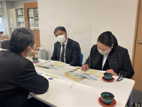 にいがた被害者支援センター」へ高見美加県議と共に訪問いたしました。