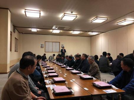 横越地区にて県政報告会を開催いたしました