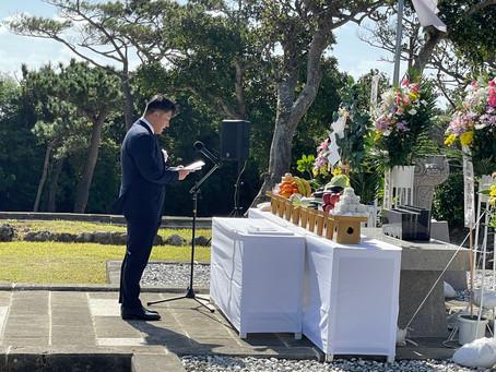『新潟の塔』慰霊祭に参列いたしました